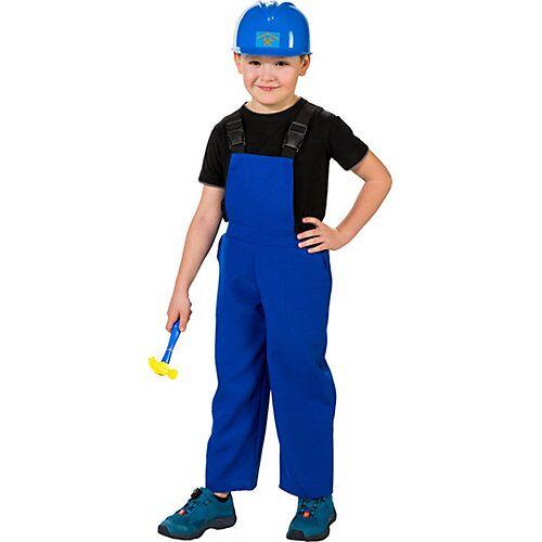 Orlob Karneval Latzhose, blau Jungen Kinder