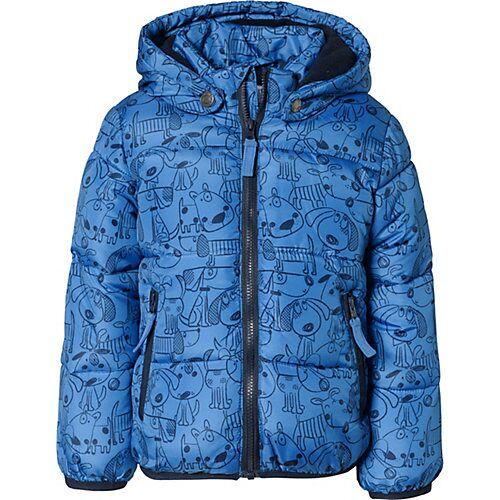 BLUE SEVEN Baby Winterjacke  blau Jungen Baby