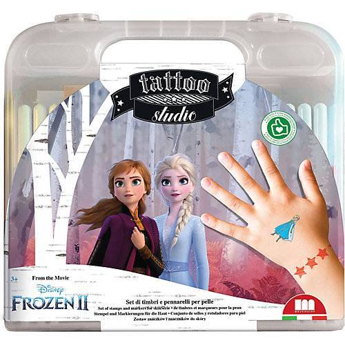 Disney Dieeiskoenigin Frozen 2 Tattoo Studio