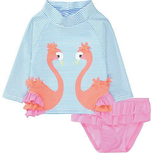 STACCATO Baby Badeanzug dunkelblau Mädchen Baby
