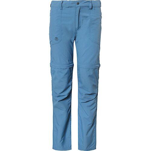COLOR KIDS Zip-Off Outdoorhose TIGGO  blau Jungen Kinder