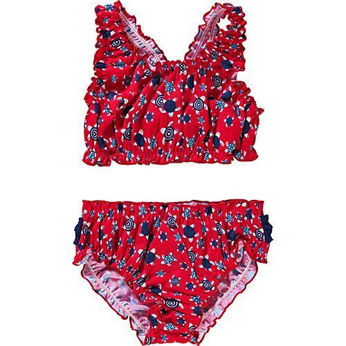 fashy Kinder Bikini rot Mädchen Kleinkinder