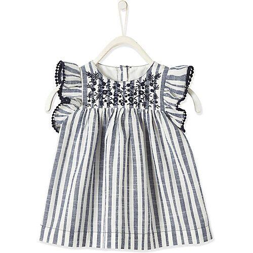 vertbaudet Baby Kleid weiß Mädchen Baby