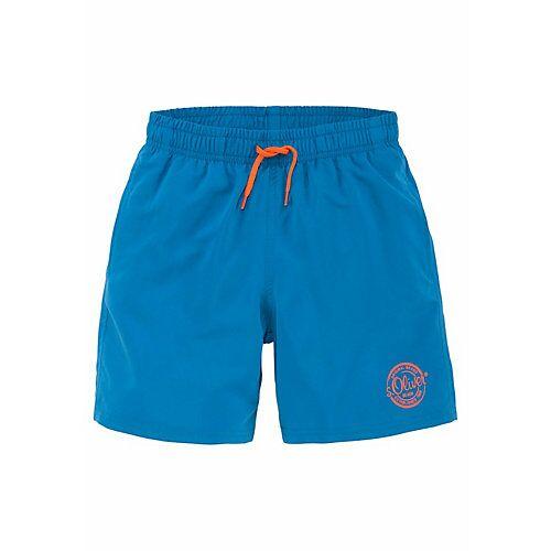 s.Oliver Beachwear Badeshorts Badeshorts  blau Jungen Kinder