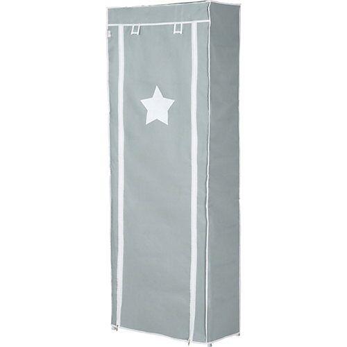 Roba Aufbewahrungsschrank L, steckbar grau