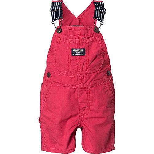 OshKosh Baby Latzhose  rot Jungen Kinder