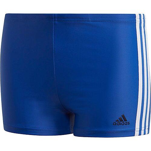 adidas Badehose FIT BX 3S  blau/weiß Jungen Kleinkinder