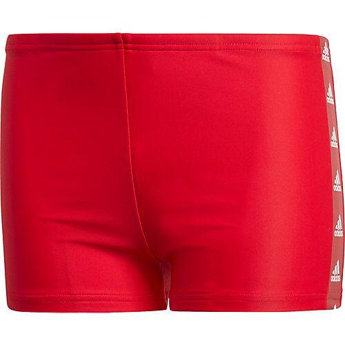 adidas Badehose TAPE  rot/weiß Jungen Kleinkinder