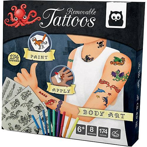 Temporäre Tattoos