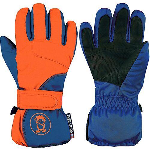 TROLLKIDS Fausthandschuhe Kids Troll Glove blau/orange