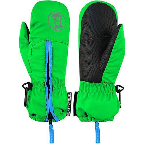 TROLLKIDS Handschuhe Kids Troll Mitten grün