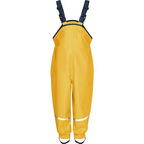 Playshoes Kinder Regenhose gelb