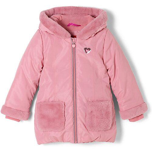 s.Oliver Kapuzenmantel mit Fleece-Futter Mäntel  pink Mädchen Kinder