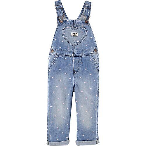 OshKosh Baby Latzhose  hellblau Mädchen Kinder