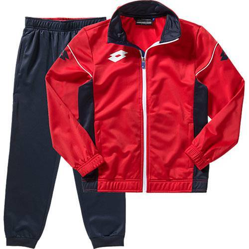 lotto Trainingsanzug  rot Jungen Kinder