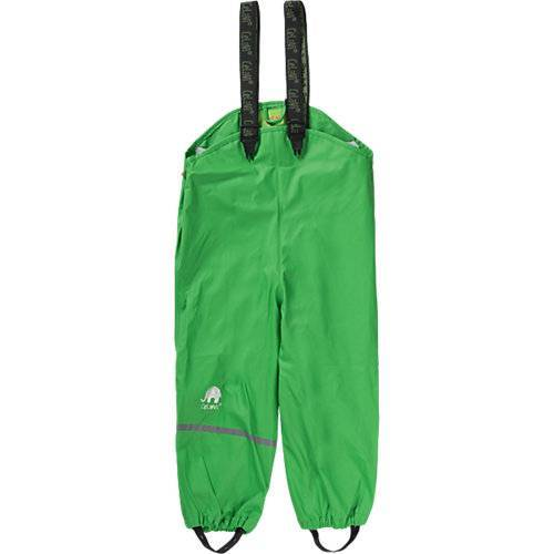 CeLaVi Kinder Regenhose mit Latz grün