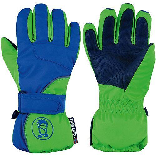 TROLLKIDS Fausthandschuhe Kids Troll Glove blau/grün