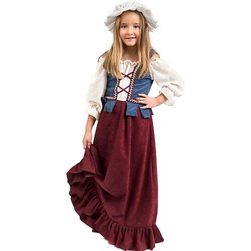 Limit Kostüm Magd/Bauernmädchen Mädchen Kinder
