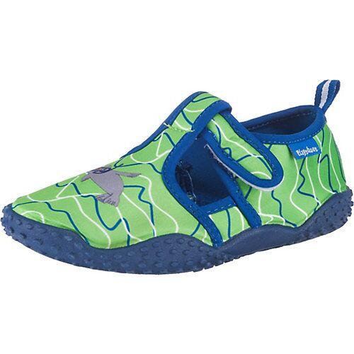 Playshoes UV-Schutz Badeschuhe ROBBE  grün Jungen Baby