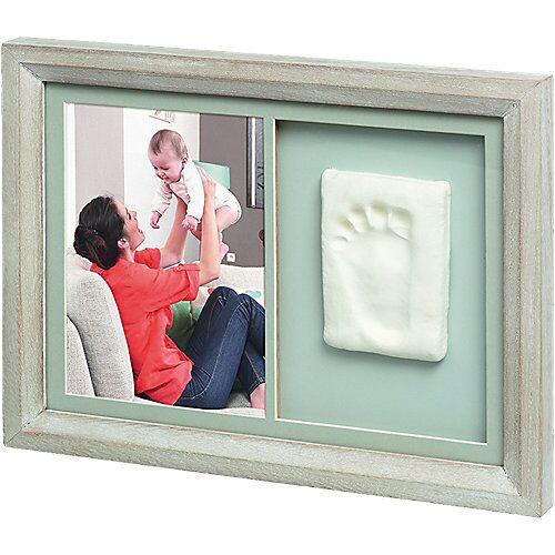Baby Art Gipsabdruck Set Tiny Touch mit Bilderrahmen, stormy grau