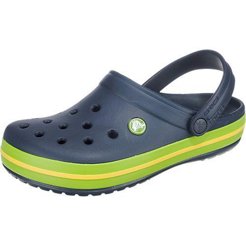 CROCS Crocband Clogs blau/grün