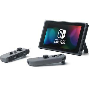 Nintendo Switch Konsole Grau (neue Edition) schwarz/grau