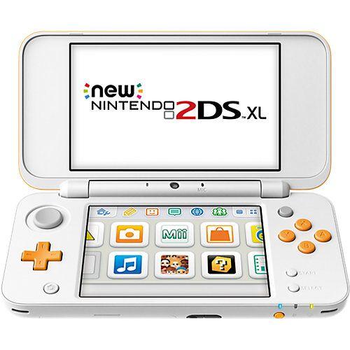 Nintendo New Nintendo 2DS XL Weiß + Orange weiß