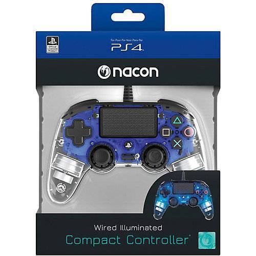 bigben PS4 Controller Light Edition (blau)