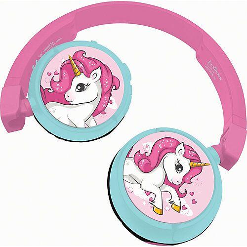 LEXIBOOK Einhorn Kopfhörer pink/blau