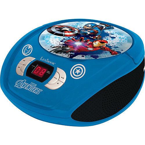 LEXIBOOK Avengers CD-Player blau