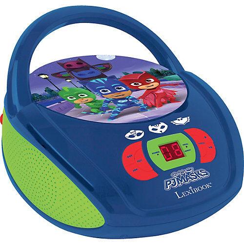 LEXIBOOK PJ Masks CD-Player blau/grün