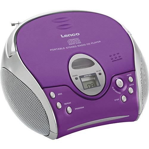 Lenco SCD-24 violett
