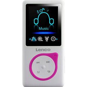 Lenco Xemio-668 Pink - MP3-/MP4-Player mit 8GB Speicher, Farbdisplay und integriertem Akku pink