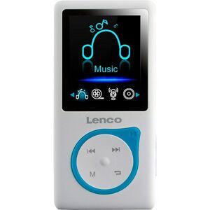Lenco Xemio-668 Blau - MP3-/MP4-Player mit 8GB Speicher, Farbdisplay und integriertem Akku blau