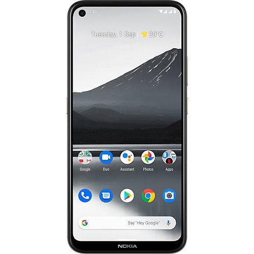 Nokia 3.4, Dual-SIM, 64, grau