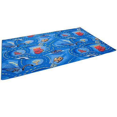 Snapstyle Kinder und Spielteppich Disney Cars Spielteppiche blau