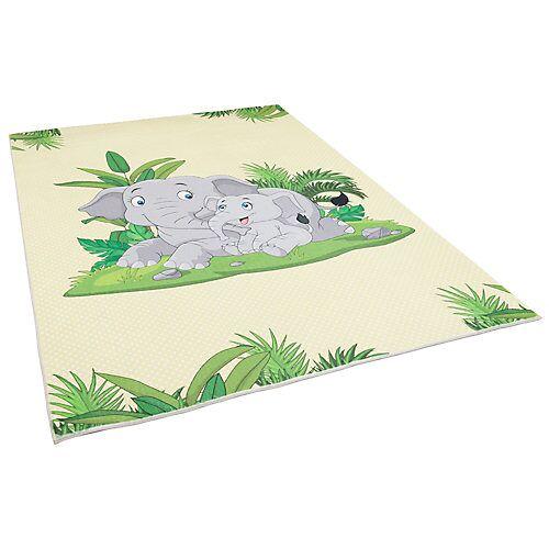 Pergamon Fellteppich Plush Kids Elefant Teppiche bunt