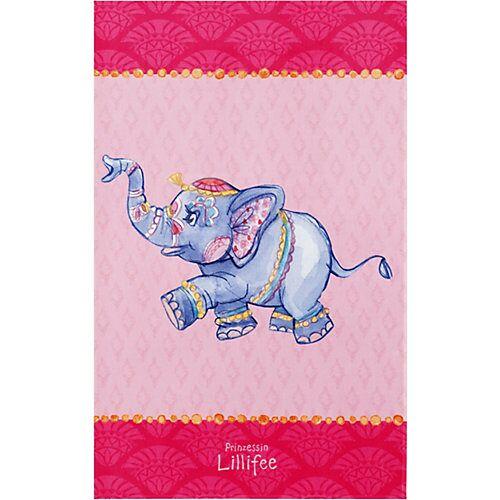 Prinzessin Lillifee Kinderteppich Prinzessin Lillifee, Elefant, 100 x 160 cm mehrfarbig
