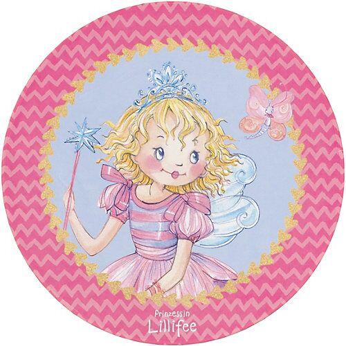 Prinzessin Lillifee Kinderteppich Prinzessin Lillifee, rund, 100 cm mehrfarbig