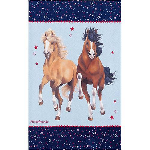Pferdefreunde Kinderteppich Pferdefreunde, Sterne, 140 x 200 cm mehrfarbig