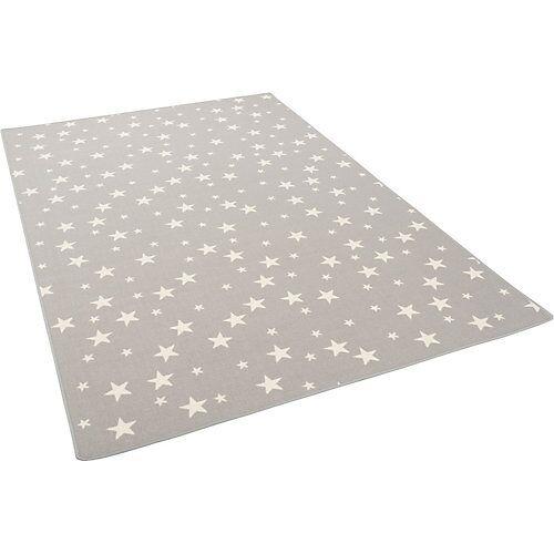 Snapstyle Kinder Spiel Teppich Sterne Spielteppiche grau