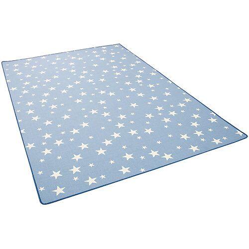 Snapstyle Kinder Spiel Teppich Sterne Spielteppiche blau
