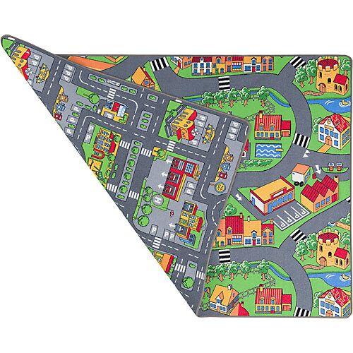 Pergamon Straßenteppich Beidseitig Metropolis Spielteppiche bunt