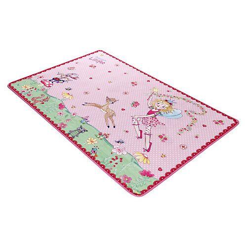 Prinzessin Lillifee Kinderteppich Prinzessin Lillifee, 100 x 160 cm, rosa