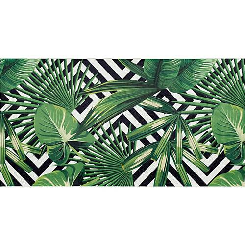 BC kids Kinderteppich Pflanzenwelt, 80 x 150 cm grün