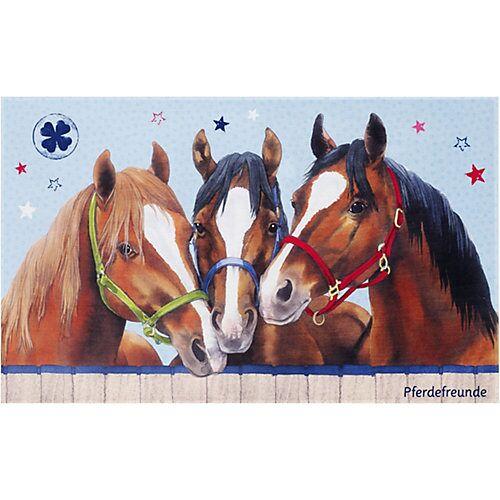 Pferdefreunde Kinderteppich Pferdefreunde, 80 x 150 cm mehrfarbig