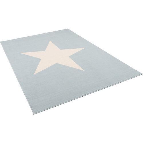 Pergamon Kinder und Jugend Teppich Trendline Stern Pastell Spielteppiche blau