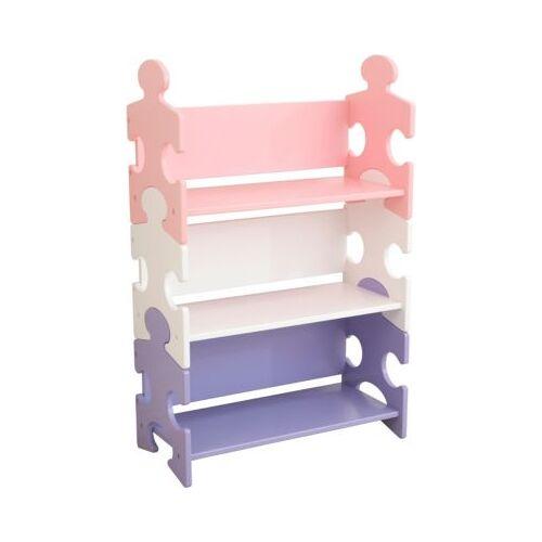KidKraft Bücherregal Puzzle - Pastell rosa
