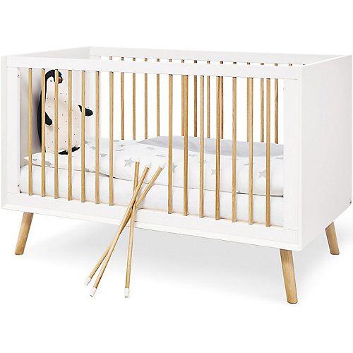Pinolino Kinderbett Edge, weiß, 70 x 140 cm
