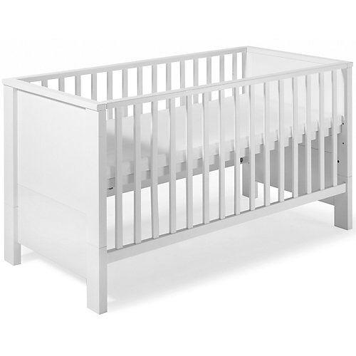 Schardt Kinderbett MILANO WEIß, weiß, 70 x 140 cm